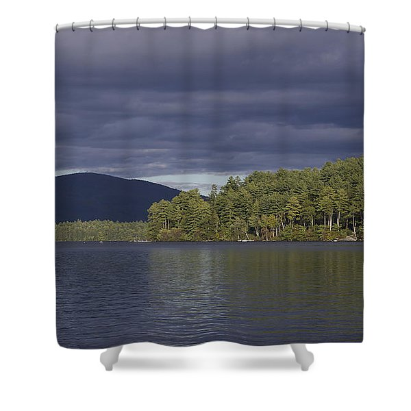 Big Squam- Early Autumn Shower Curtain