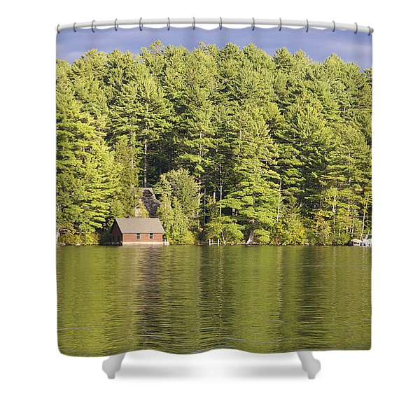 Big Squam In The Fall Shower Curtain