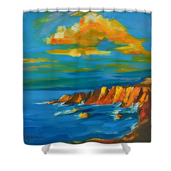 Big Sur At The West Coast Of California Shower Curtain