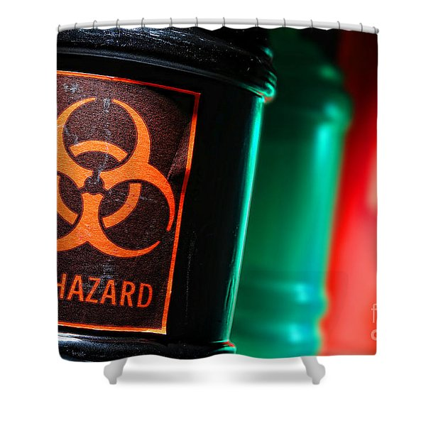Biohazard Shower Curtain