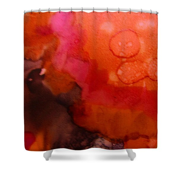 Biology Of Exhilaration Shower Curtain