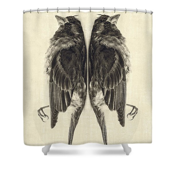 Mirror Mirror Shower Curtain