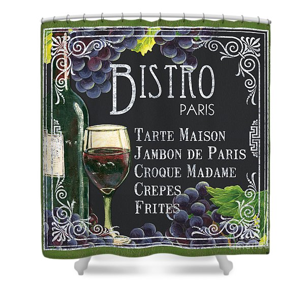 Bistro Paris Shower Curtain