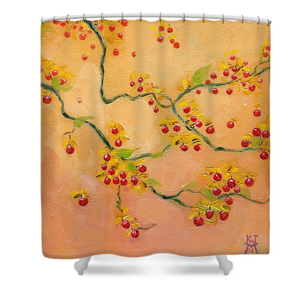 Bittersweets Shower Curtain
