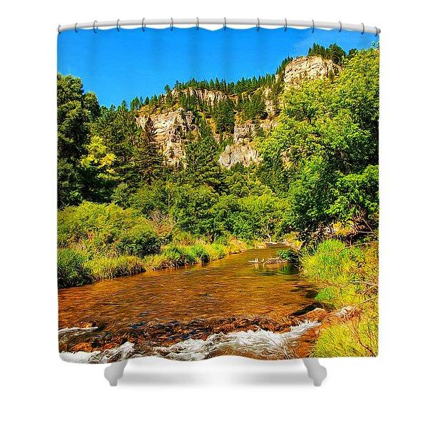 Black Hills Beauty Shower Curtain
