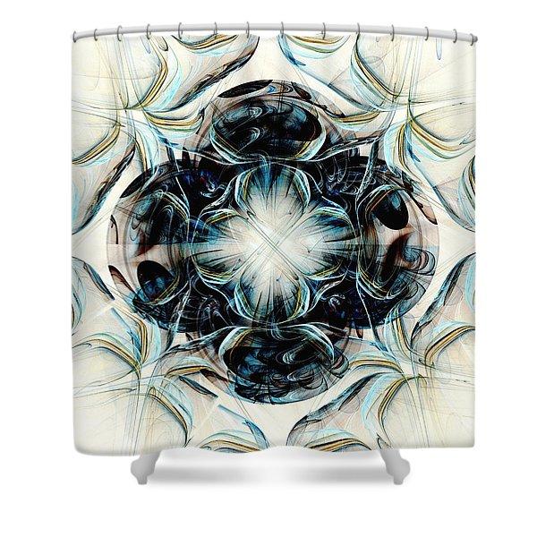 Black Pearls Shower Curtain by Anastasiya Malakhova