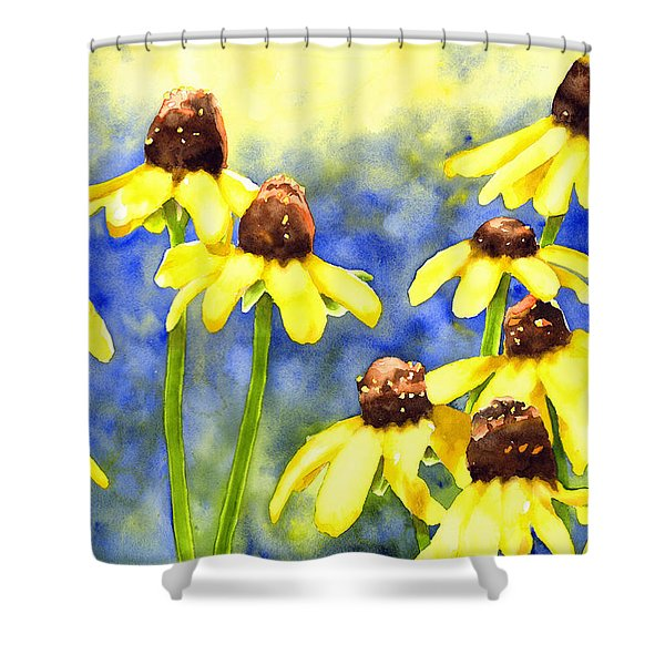 Blackeyed Beauties Shower Curtain