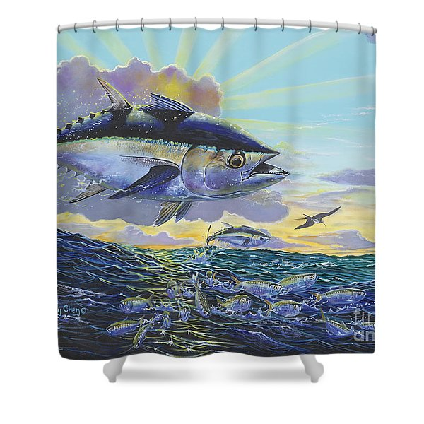 Blackfin Bust Off00116 Shower Curtain