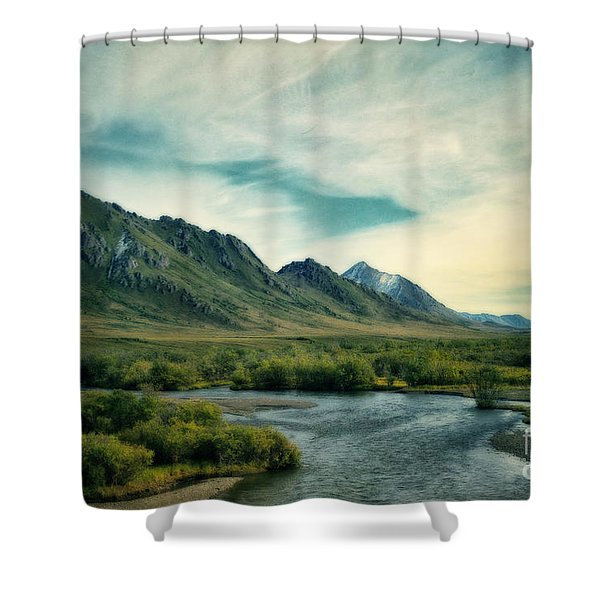 Blackstone River  Shower Curtain