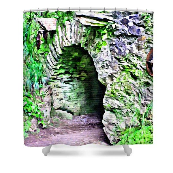 Blarney Cave Shower Curtain