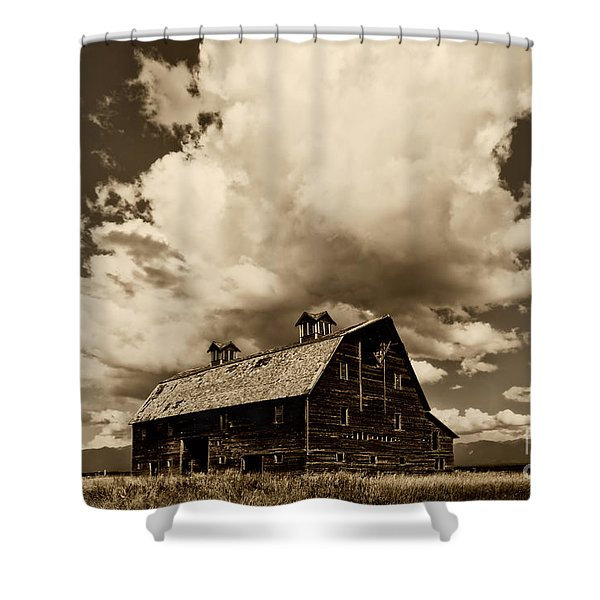 Blasdel Barn Shower Curtain