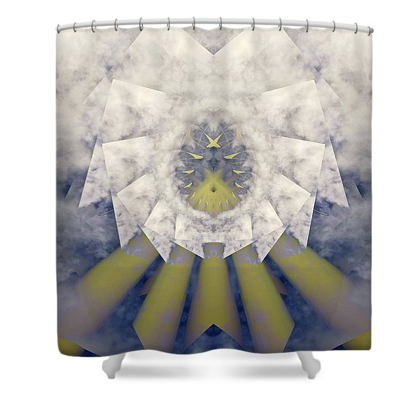 Blast Off Shower Curtain