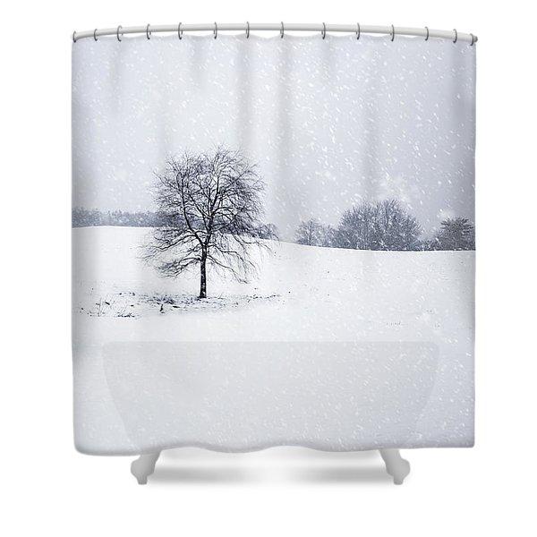 Bleakest Essence Shower Curtain