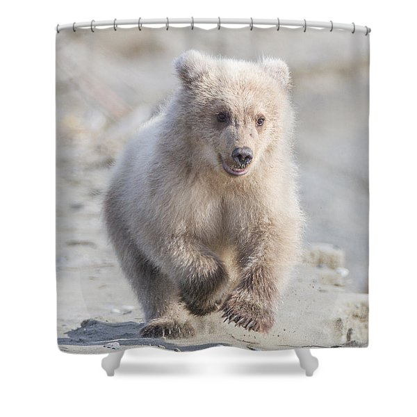 Blondes Have More Fun Shower Curtain