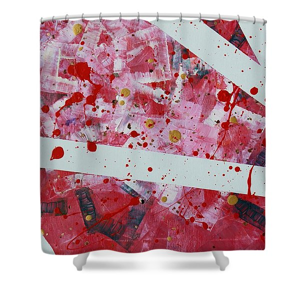 Blood On The Leaves Shower Curtain
