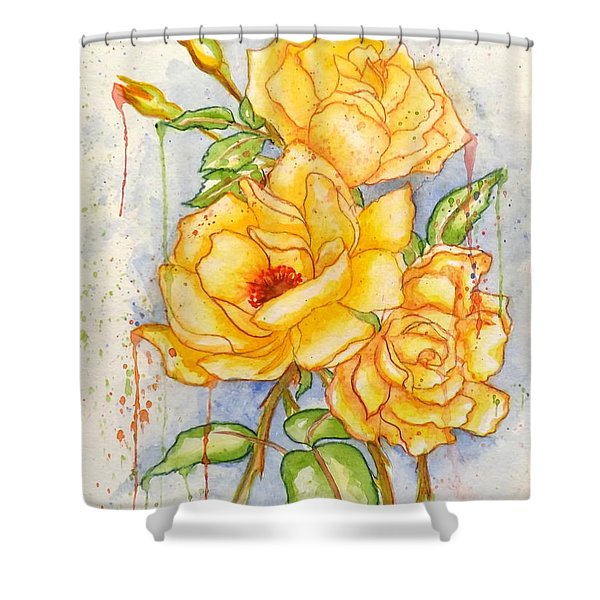 Blood Sweat And Tears Shower Curtain