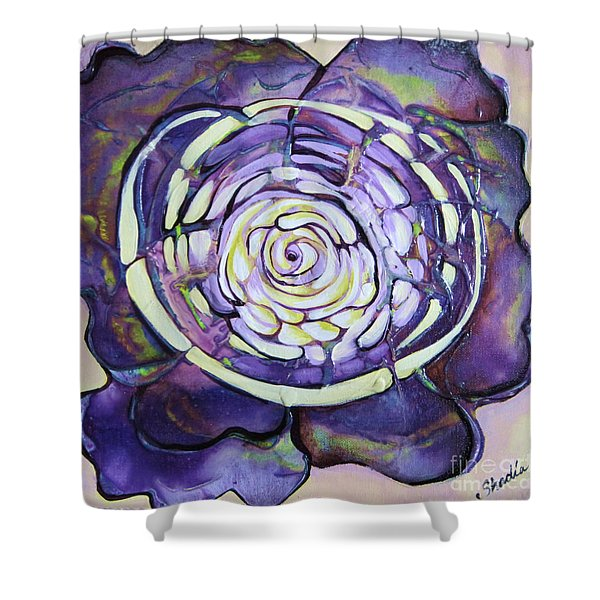 Bloom Iv Shower Curtain