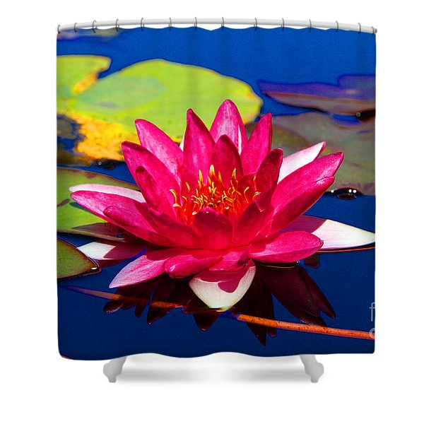 Blooming Lily Shower Curtain