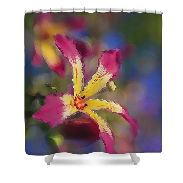 Bloomin Hong Kong Orchid Shower Curtain