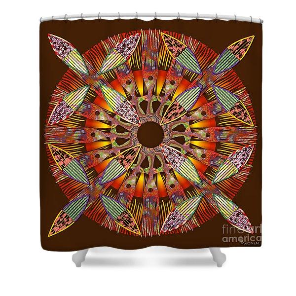 Blooming Mandala 4 Shower Curtain