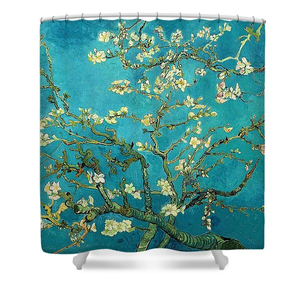 Blossoming Almond Tree Shower Curtain