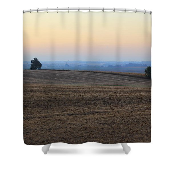 Blue Dawn Shower Curtain