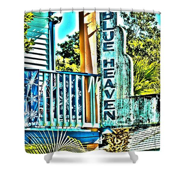 Blue Heaven In Key West - 1 Shower Curtain