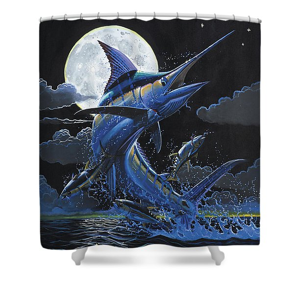 Blue Moon Off0069 Shower Curtain