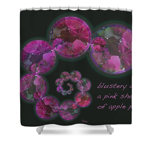 Blustery Day Haiga Shower Curtain