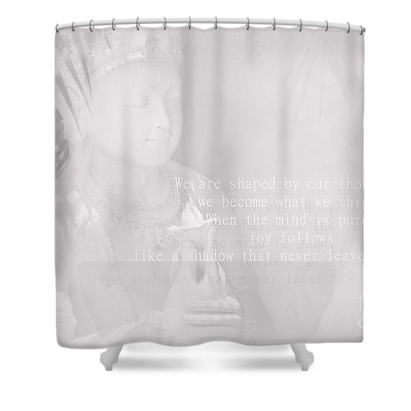 Bodhisattva Shower Curtain