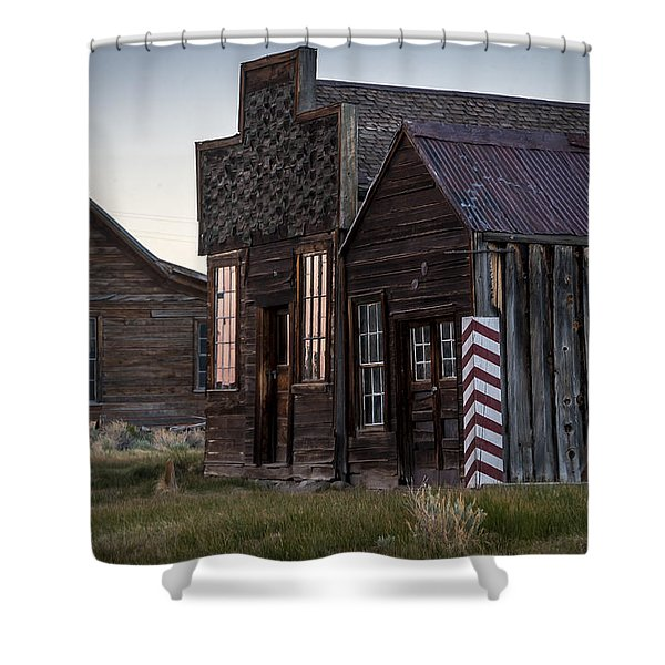Bodie Bar And Barber Shower Curtain