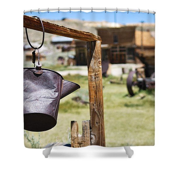 Bodie Ghost Town 2 - Old West Shower Curtain