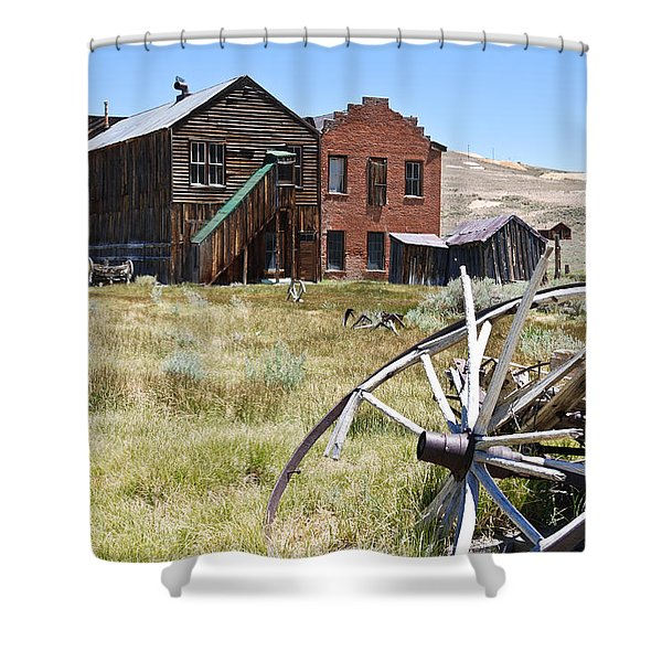 Bodie Ghost Town 3 - Old West Shower Curtain