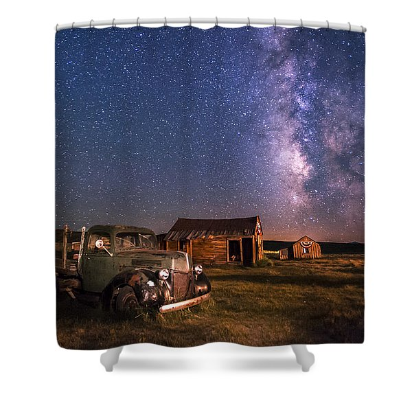 Bodie Nights Shower Curtain