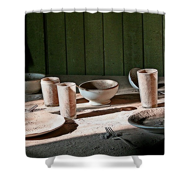 Bodie Place Setting For 2 Shower Curtain