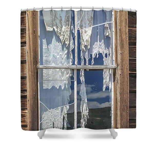Bodie Window Shower Curtain