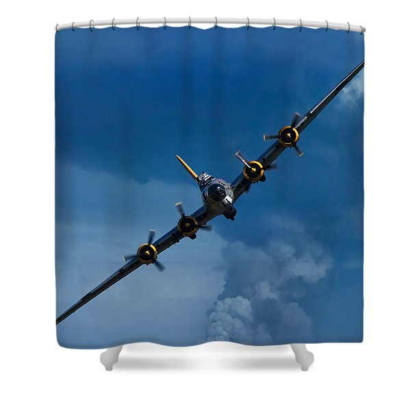 Boeing B-17 Flying Fortress Shower Curtain