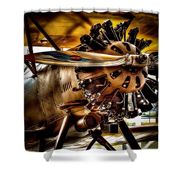 Boeing Model 100 Shower Curtain