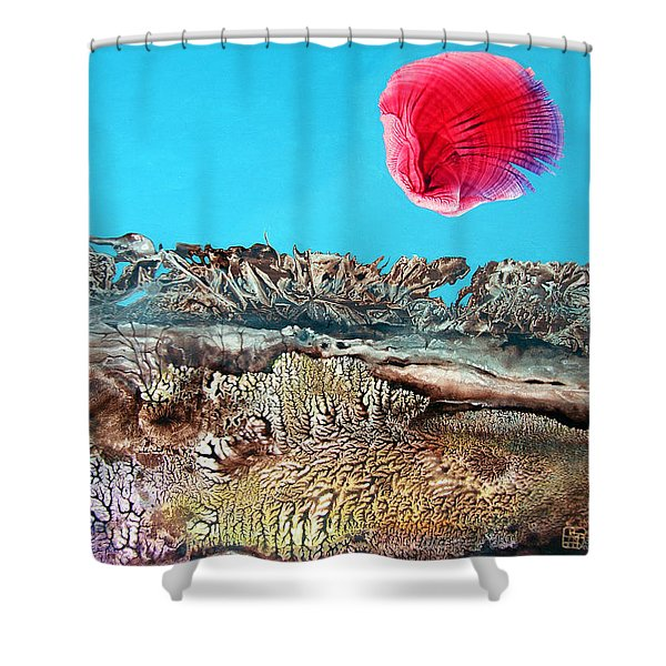 Bogomil Sunrise 2 Shower Curtain