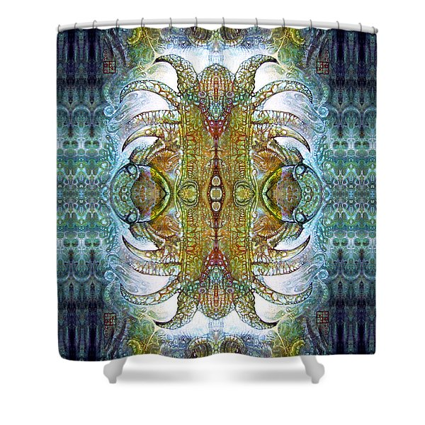 Bogomil Variation 14 - Otto Rapp And Michael Wolik Shower Curtain