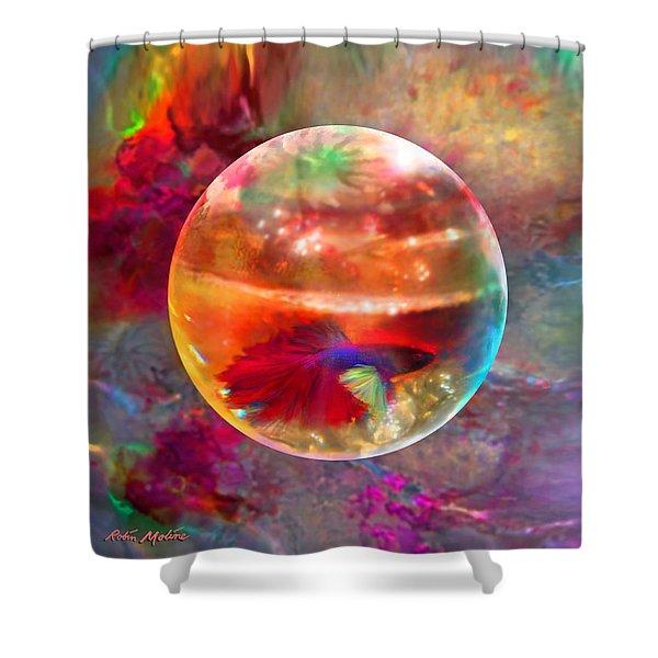 Bol De Monet' Shower Curtain