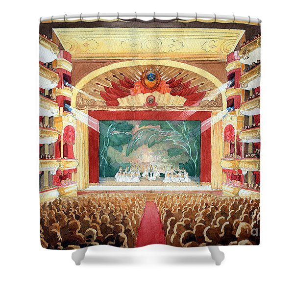 Bolshoi Ballet Shower Curtain