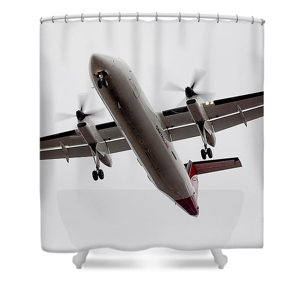 Bombardier Dhc 8 Shower Curtain
