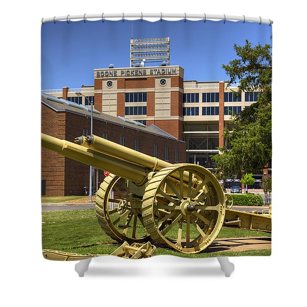 Booming Campus Shower Curtain