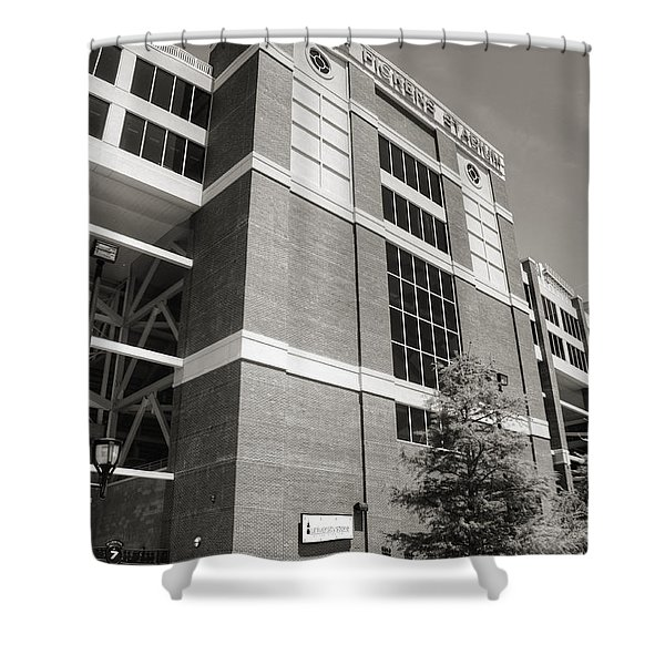 Boone Pickens Stadium II Shower Curtain