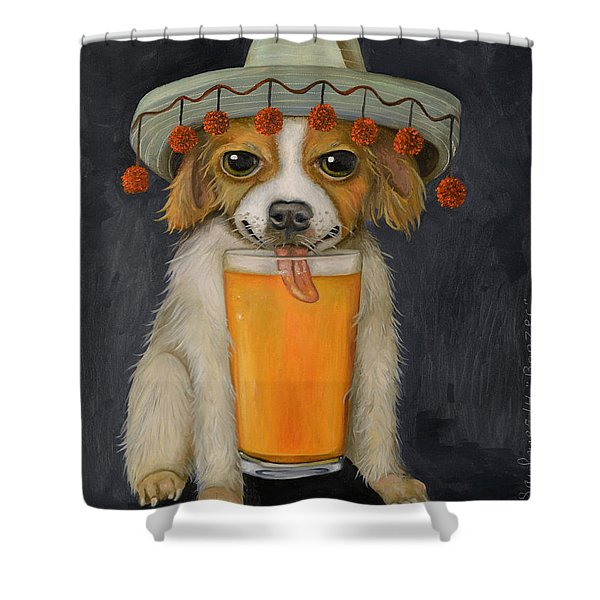 Boozer Pro Photo Shower Curtain