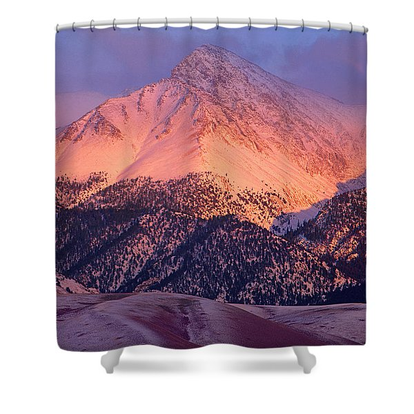 Borah Peak  Shower Curtain