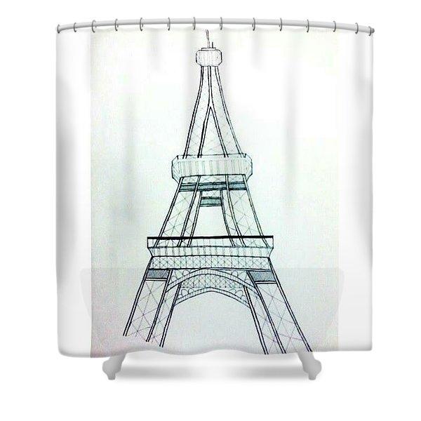 I-fell Shower Curtain