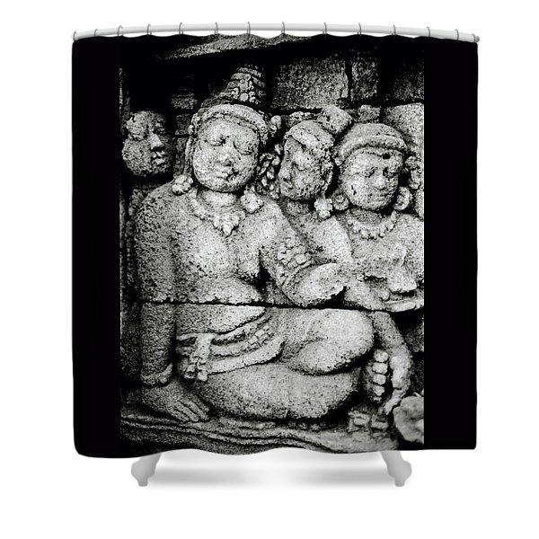 Borobudur Harmony Shower Curtain