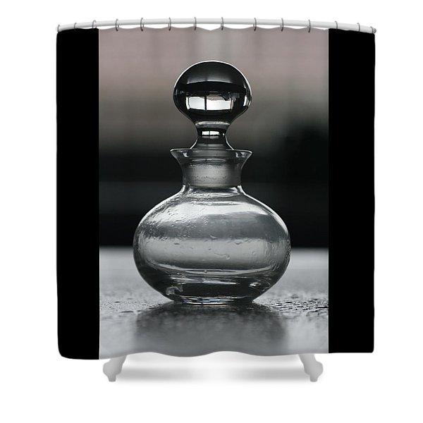 Bottle Shower Curtain